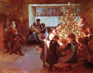 "A. Chevallier Tayler, ""The Christmas Tree"" 1911"
