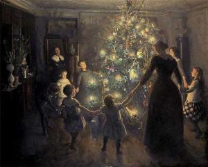 """J. Viggo, """"Merry Christmas"""" 1891"""