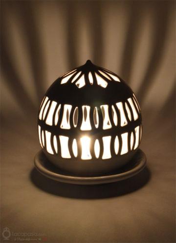 ALCIONE - Porta candela in ceramica