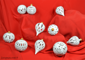 "PALLE DI NATALE ""White Christmas"""