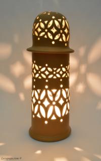 "LAMPADA ""Minareto di terracotta"""