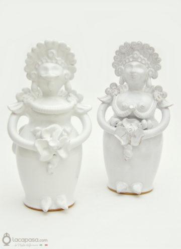 CIRO e TATINA - Pupe in ceramica