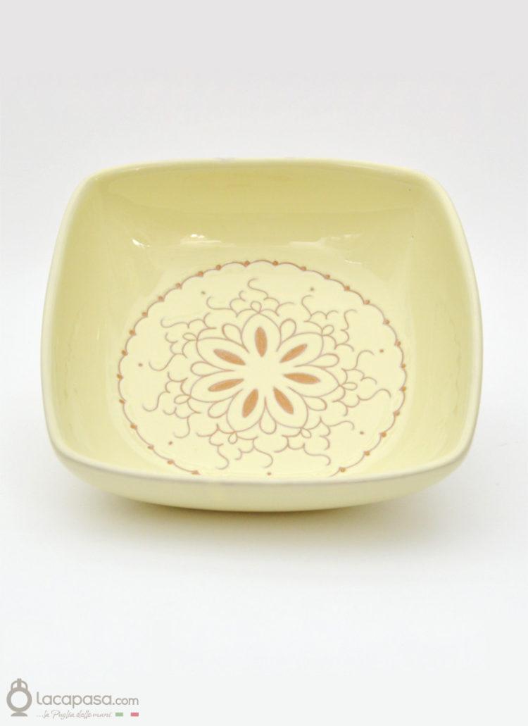 """centrotavola in ceramica """"Ibisco"""""""