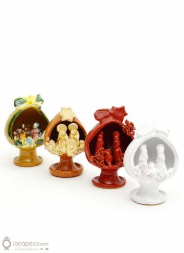 SACRA FAMIGLIA - Pumo presepe ceramica