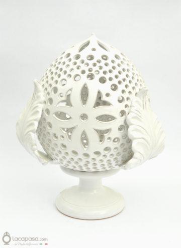 "Lampada ""Pumo"" in ceramica traforata"