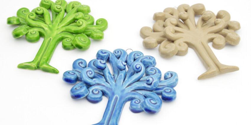 albero della vita in ceramica