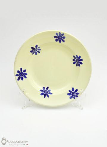 Piatto Fondo ceramica – decoro fiori