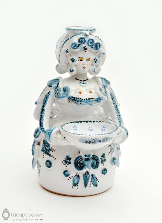 OTTAVIA - Pupa saliera in ceramica