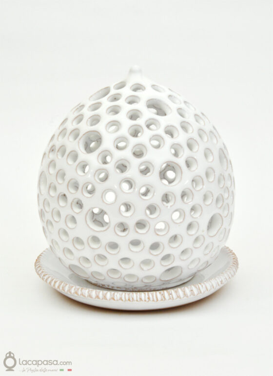OCEANO - Porta candela in ceramica