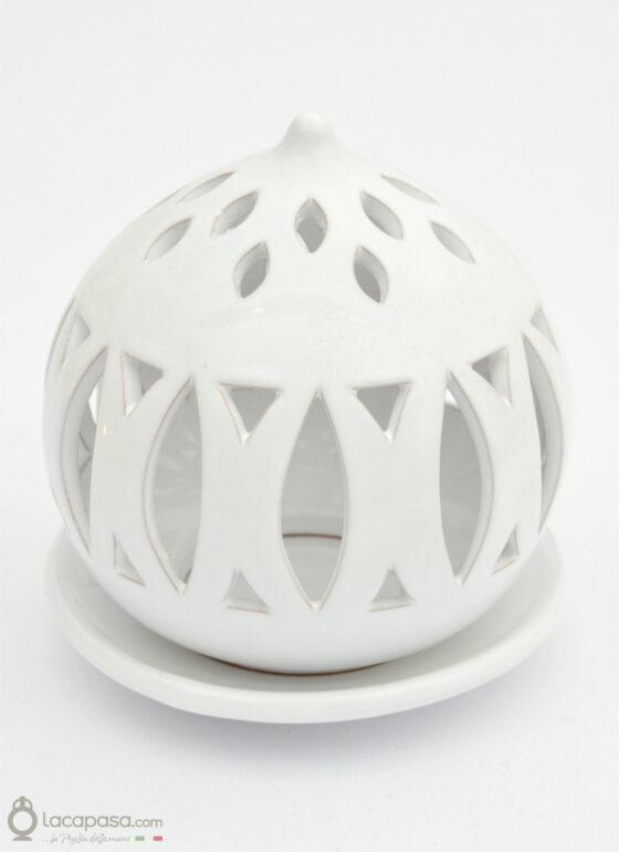 POLARE - Porta candela in ceramica