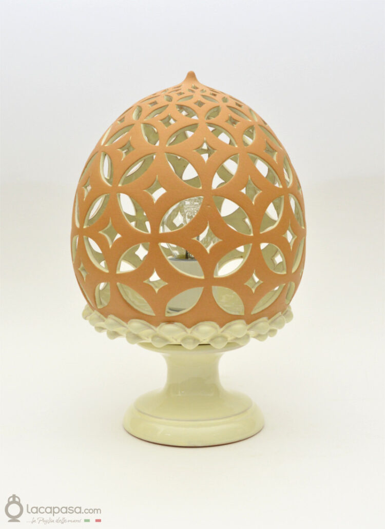 RANELLA - Lampada in ceramica