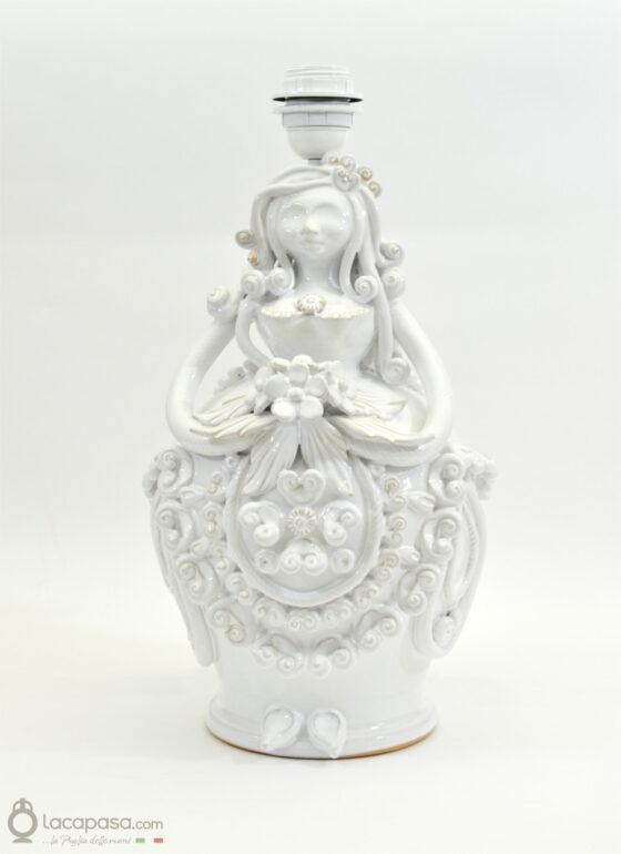 Lampada Pupa in ceramica