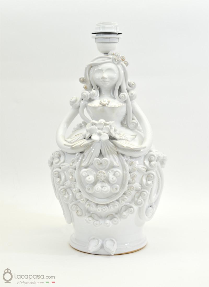 GIULIA - Lampada Pupa in ceramica