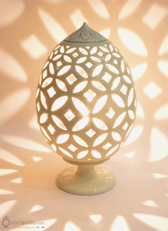 ROSA SAN GIOVANNI - Lampada Pumo in ceramica