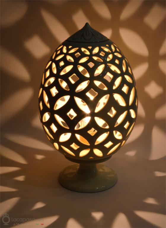 ROSA DI SAN GIOVANNI - Ceramic Pumo Lantern