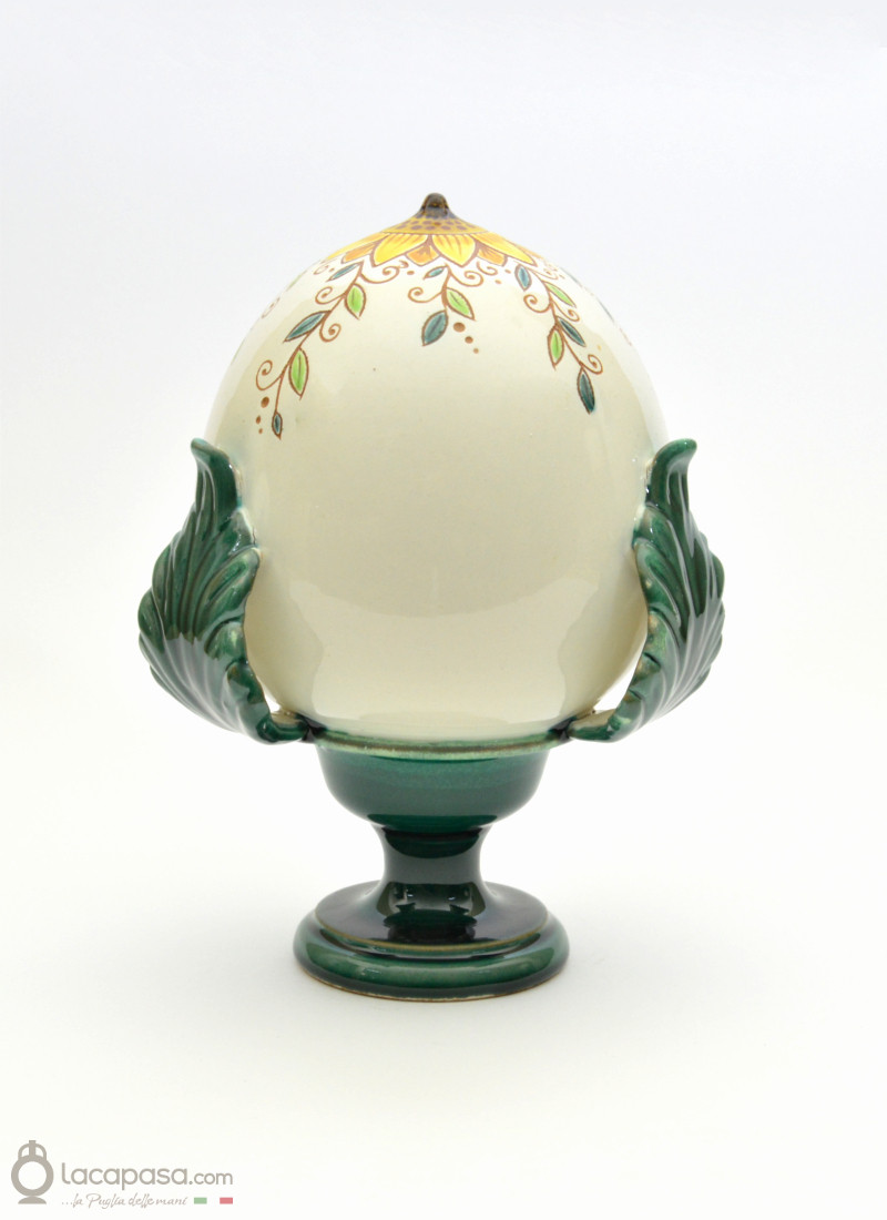 GIRASOLE - Pumo in ceramica