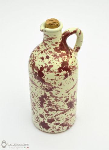 Oliera ceramica - decoro Macchia
