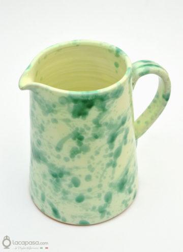 Brocca ceramica - decoro Macchia