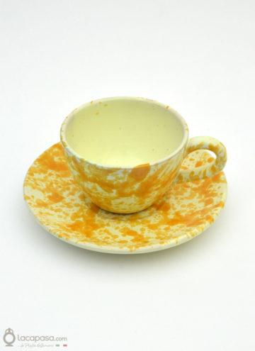 Tazza Tè ceramica - decoro Macchia