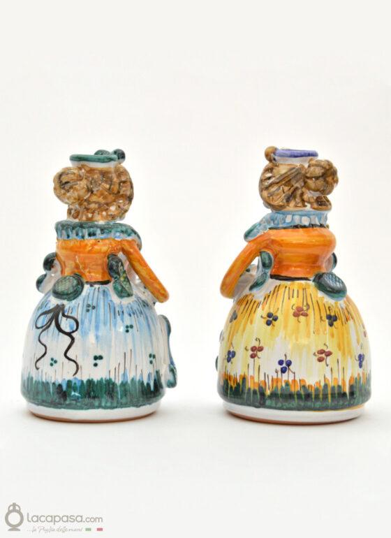DOMENICO e CARMELA - Pupe in ceramica