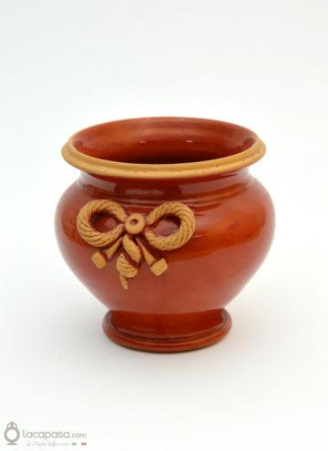 GHIRLANDA - Vaso portapianta in ceramica