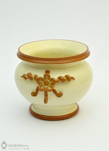 CORBEZZOLO - Vaso portapianta in ceramica