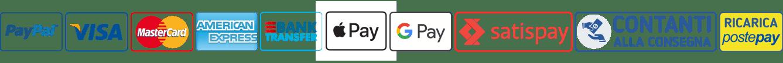 Pagamenti accettati