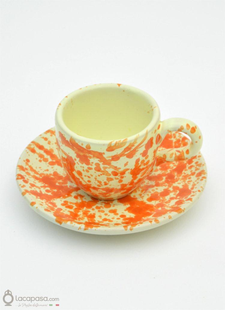 Tazza Caffè ceramica - decoro Macchia