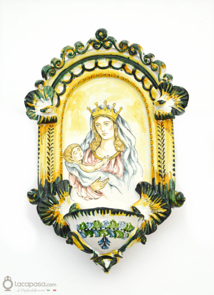LUMEN - Acquasantiera in ceramica