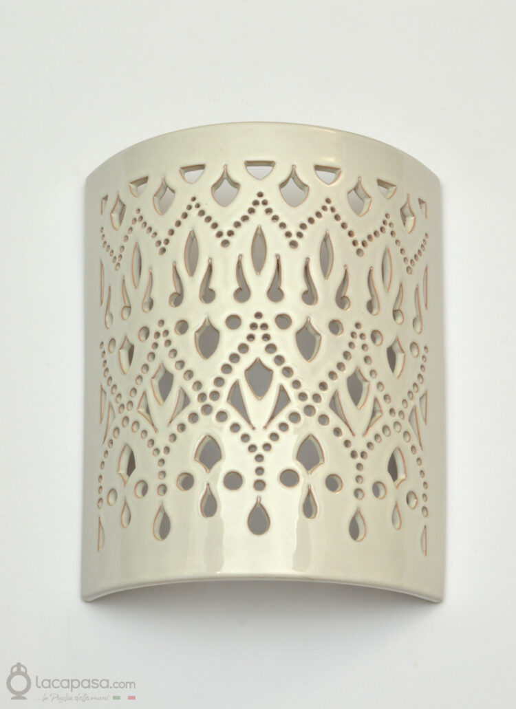 ANDROMEDA - Applique da parete in ceramica