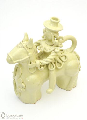 COSIMO - Cavaliere in ceramica