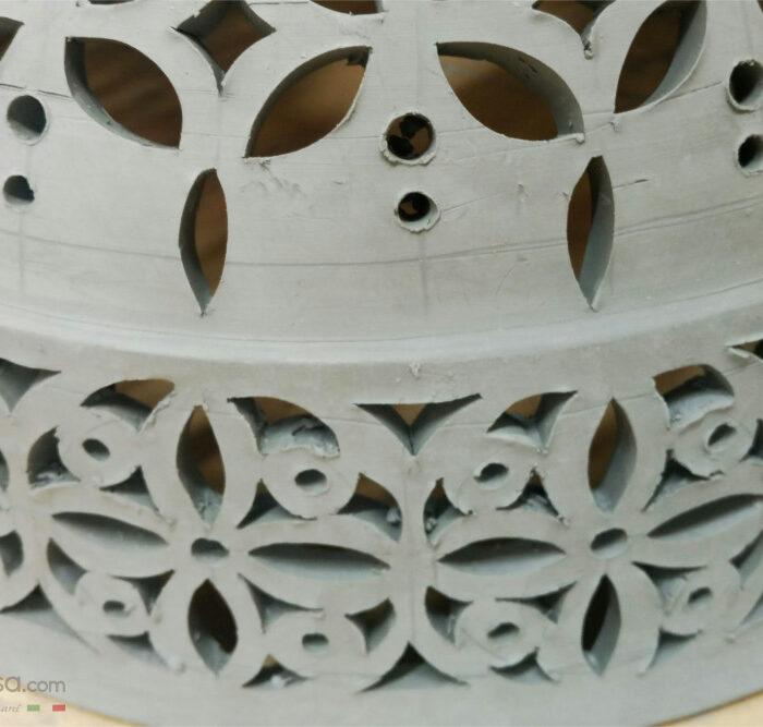 Come nasce un'Applique da Parete in Ceramica Artigianale