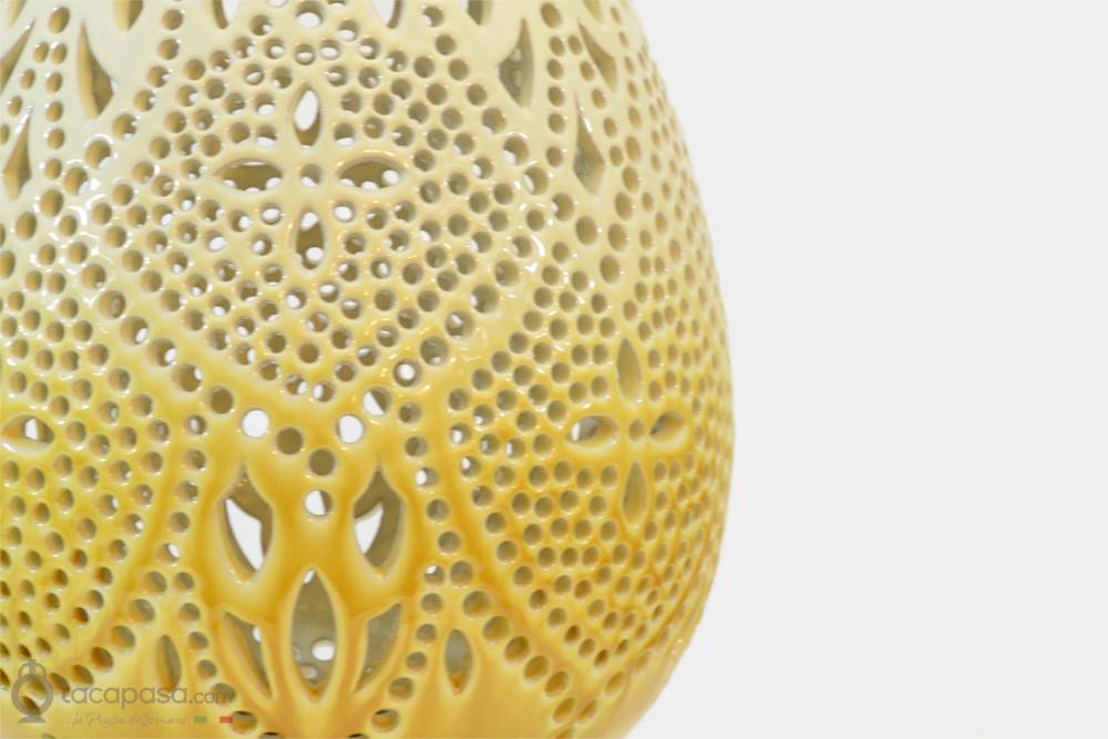 SPIGA - Lampada in ceramica artistica pugliese