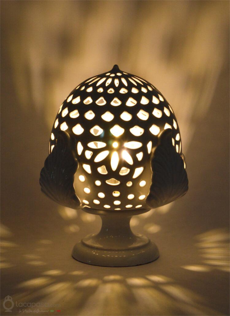 CAMOMILLA - Lampada Pumo in ceramica