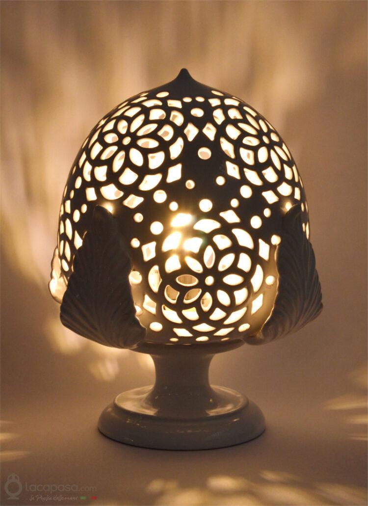 SCILLA - Lampada Pumo in ceramica