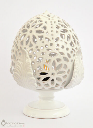 SILENE - Lampada Pumo in ceramica