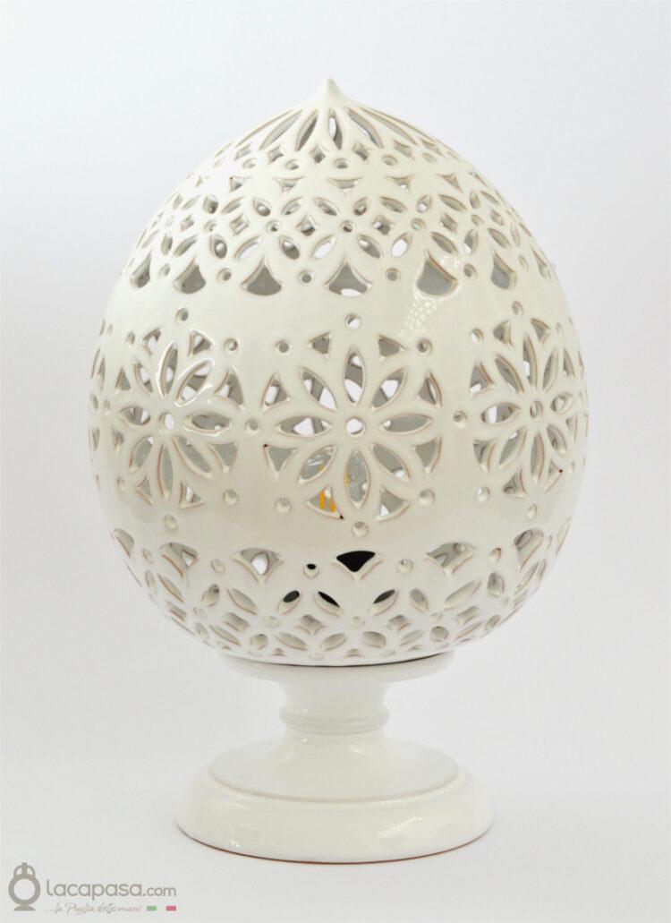 PRATOLINA - Lampada Pumo in ceramica