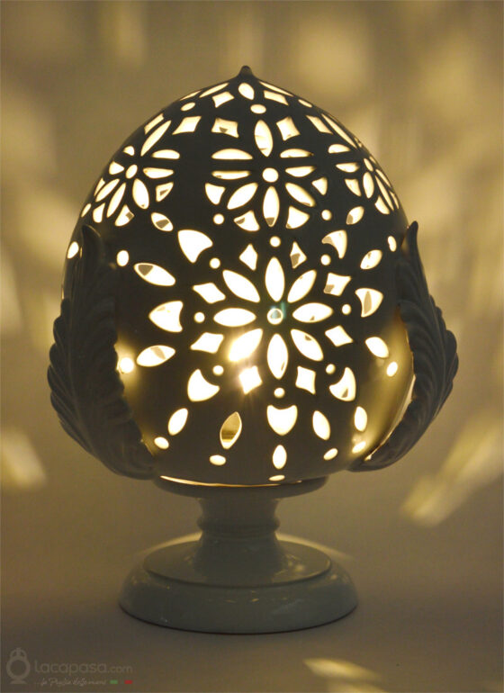 ACHILLEA - Lampada Pumo in ceramica