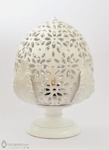 VALERIANA - Lampada Pumo in ceramica