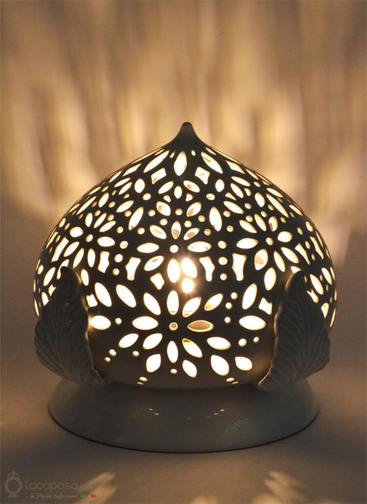 ERICA - Lampada Pumo in ceramica