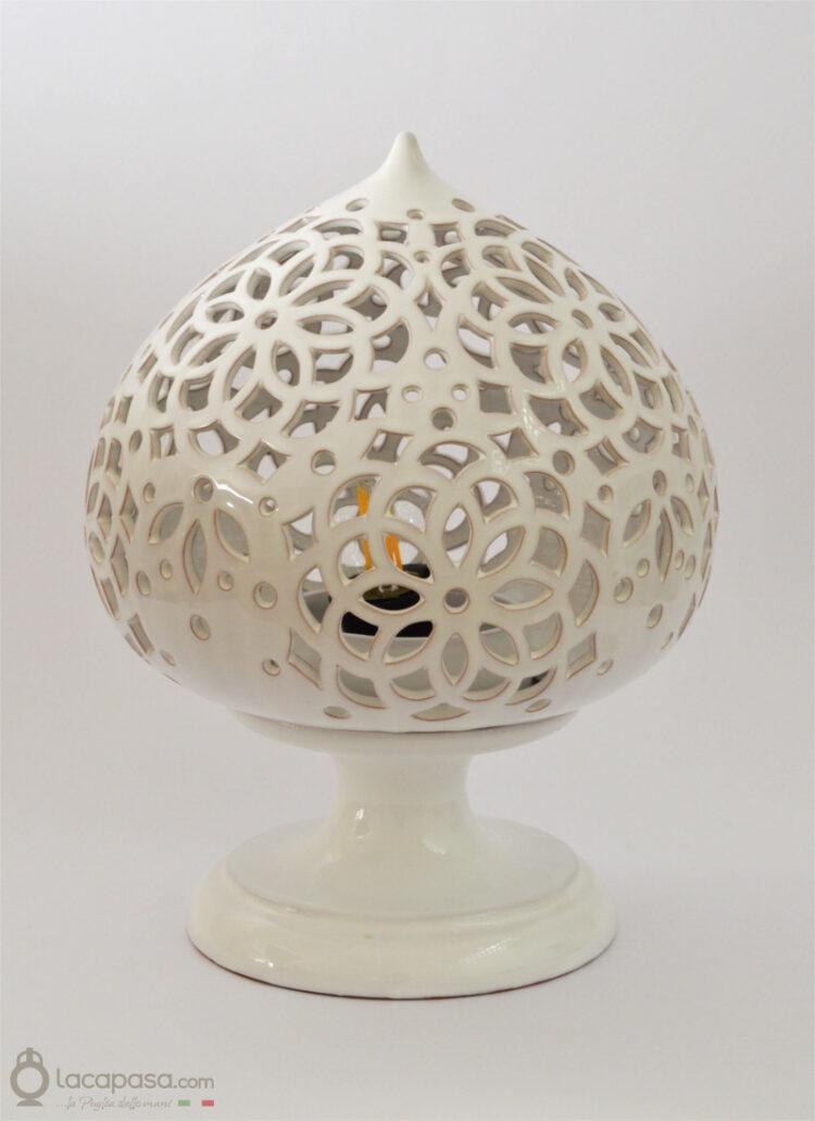 PERVINCA - Lampada Pumo in ceramica