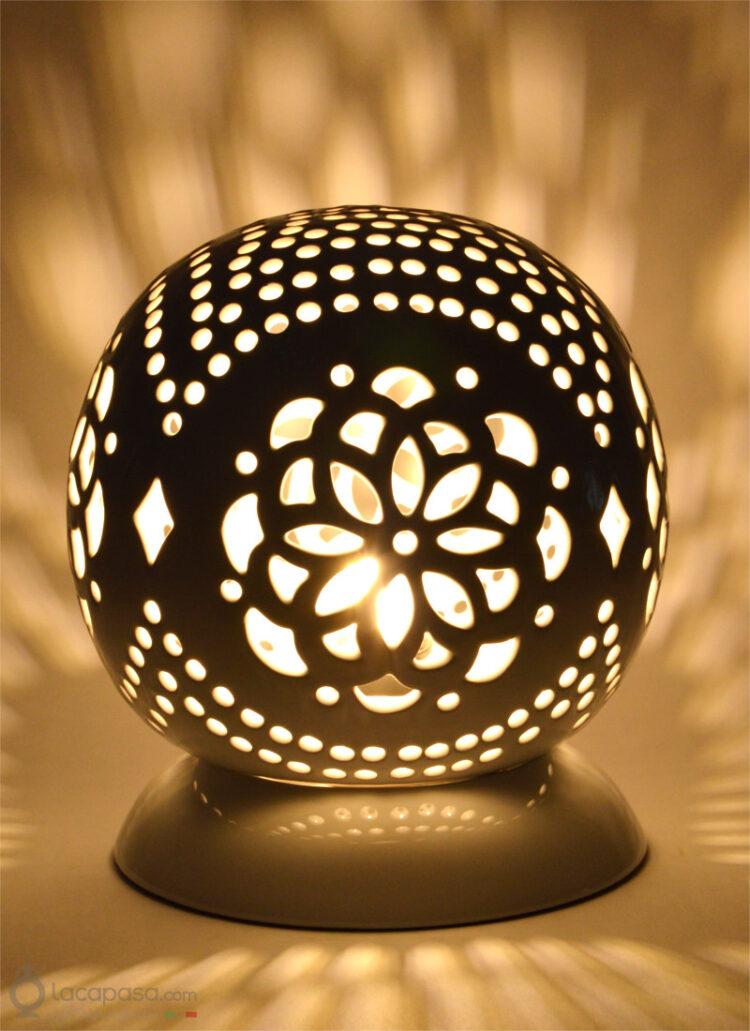 CINERARIA - Lampada in ceramica