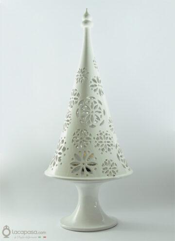 NIVES - Lampada albero Natale ceramica