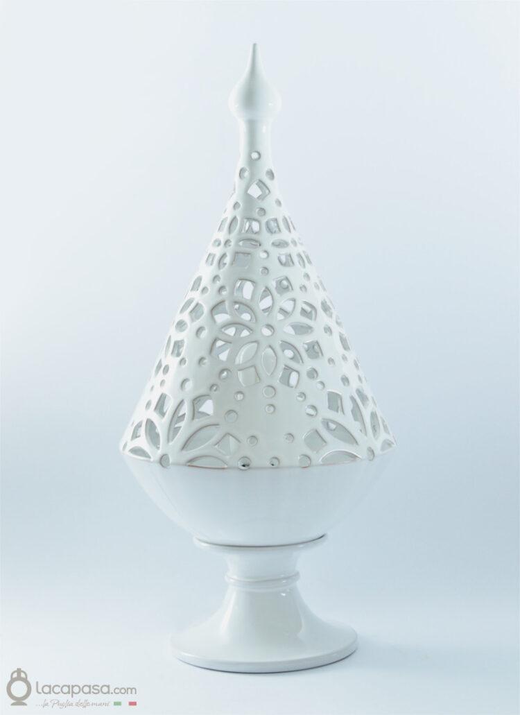 AMARYLLIS - Lampada albero Natale ceramica