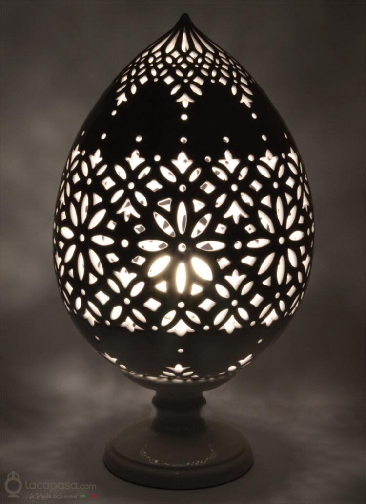 ANETO - Lampada Pumo in ceramica