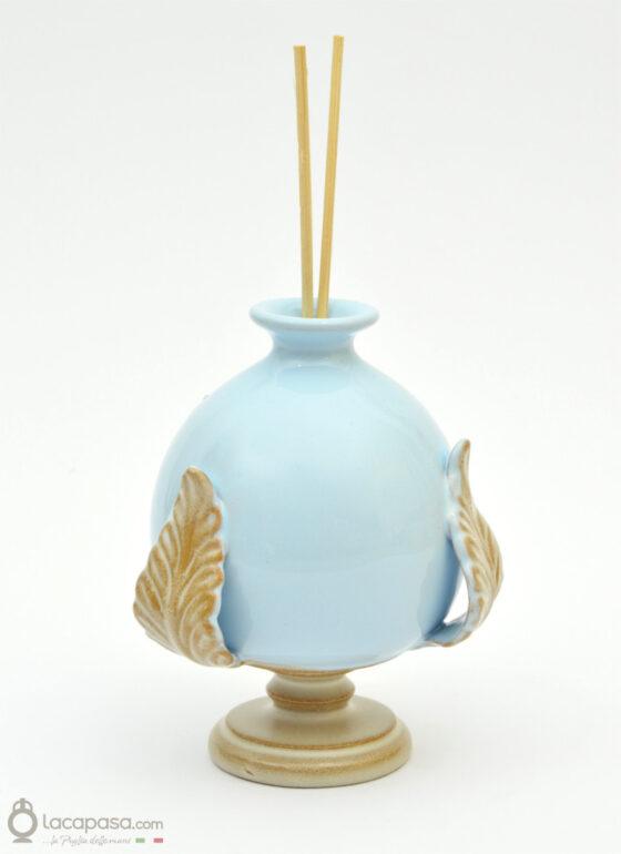 AGAPANTO - Profumatore bomboniera ceramica