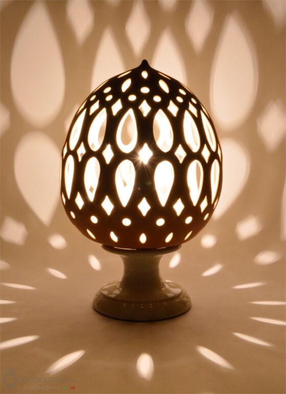 TRICOLIA - Lampada Pumo in ceramica