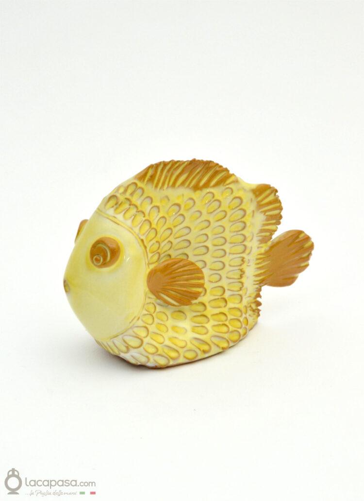 TRIGLIA - Pesce in ceramica