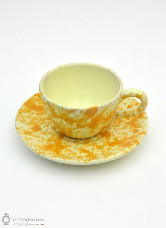 Tazza The ceramica - decoro Macchia