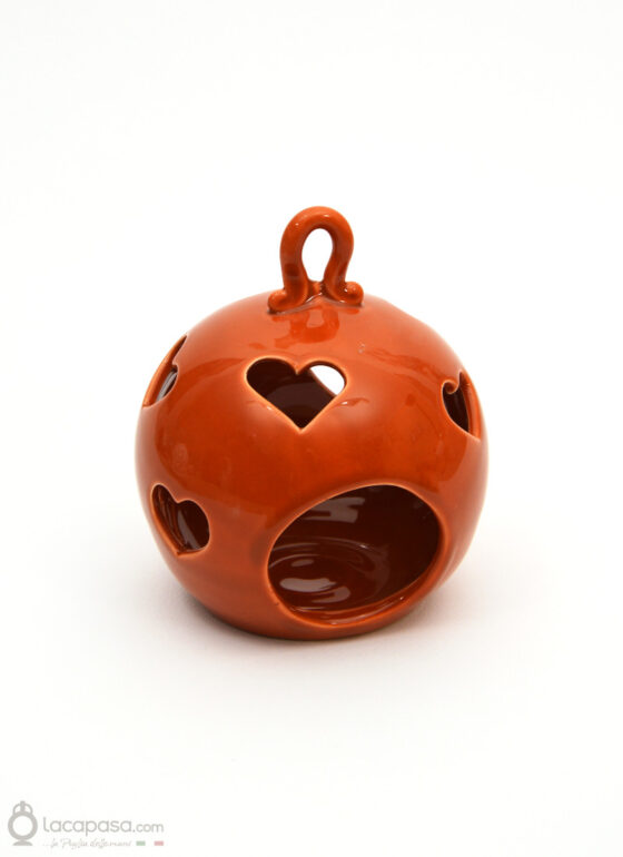 CASTAGNO - Porta candela ceramica